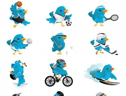 Sports twitter icons by: Lindsey Kellis Meredith