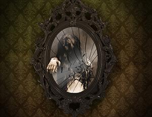 Spooky Mirror Photoshop class