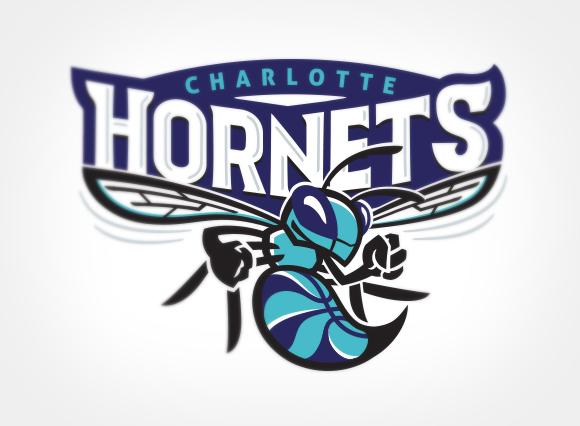 Charlotte Hornets Logo Link Creative