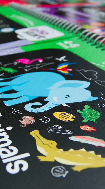 Leap Frog Illustrations