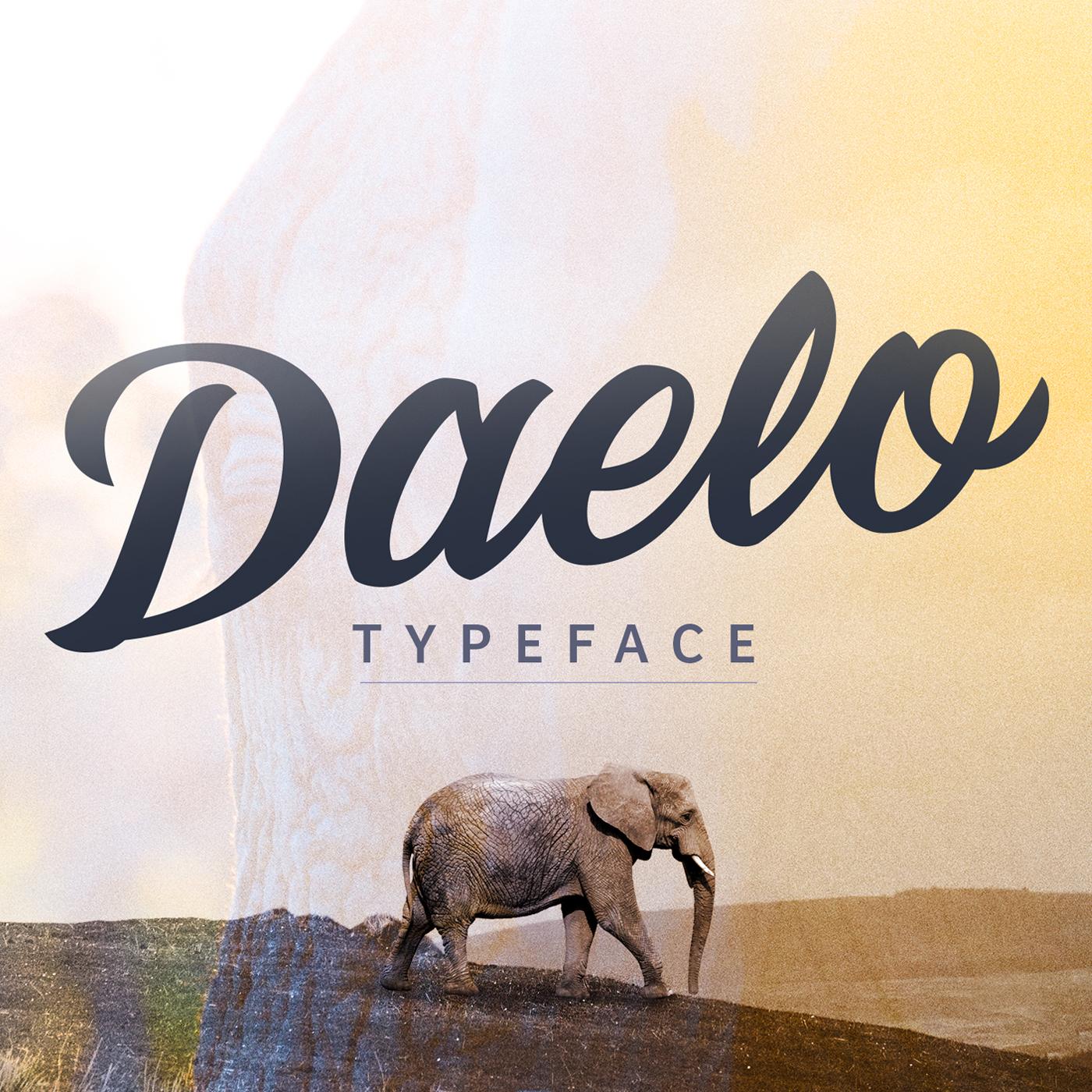 Daelo-Typeface_link-creative